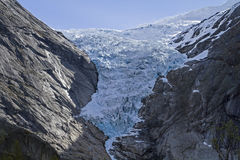 Briksdalsbreen Royalty Free Stock Photos