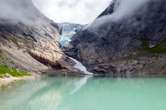 Briksdalsbreen Royalty Free Stock Images