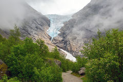 Briksdalsbreen Stock Photography