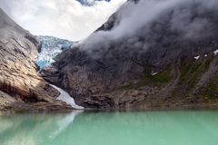 Briksdalsbreen Royalty Free Stock Image