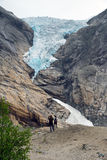 Briksdalsbreen Stock Image