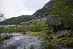 Briksdalsbreen, Sogn og Fjordane, Norway Stock Photo