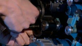 Bril, filmfestival, première stock footage