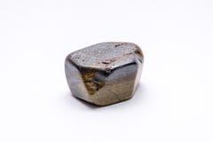 Brilhante precioso mineral da joia de prata da gema de pedra preciosa do ouro Imagem de Stock Royalty Free