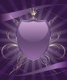 Brilhantemente emblema do protetor do partido ilustração stock