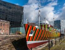 Brilhe o navio Fotografia de Stock Royalty Free