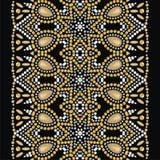 Brilhe o teste padrão da forma das pedras brilhantes, cristais de rocha ilustração stock