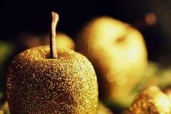 Brilho Apple - decoração do Natal Imagem de Stock Royalty Free
