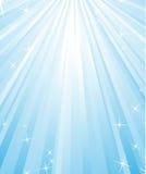 Brilho azul Fotografia de Stock Royalty Free