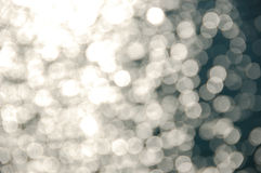 Brilho claro na água de mar Imagens de Stock