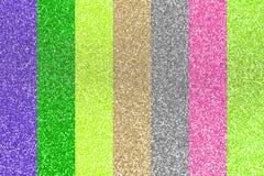 Brilho colorido abstrato Fotografia de Stock Royalty Free