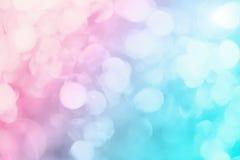 Brilho colorido do bokeh fotos de stock royalty free