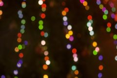 Brilho da cor no formulário dos círculos fotografia de stock
