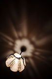 Brilho de brilho na obscuridade Imagem de Stock