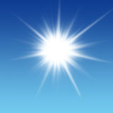 Brilho de Sun Fotos de Stock