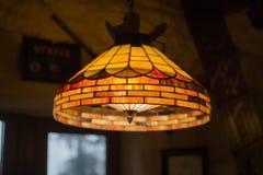 Brilho feito de vidros coloridos fotografia de stock