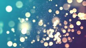 Brilhos 1 de Bokeh Fotografia de Stock