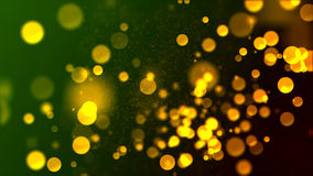Brilhos 2 de Bokeh Imagem de Stock