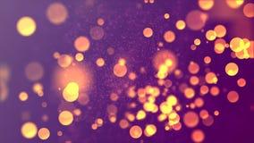 Brilhos 3 de Bokeh Foto de Stock