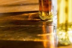 Brilhos e reflexões com as garrafas Imagens de Stock