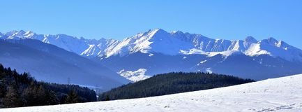 briljant bergväder Royaltyfri Foto
