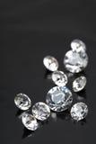 briljant diamant Fotografering för Bildbyråer