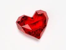 Briljant hart stock afbeeldingen