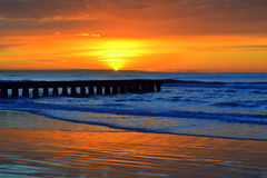 briljant soluppgång Arkivbilder