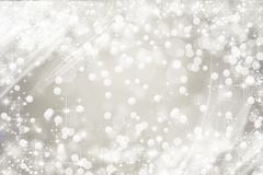 Briljant vit snöig bakgrund, ferie Royaltyfria Bilder