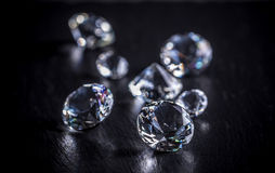 briljante diamant Royalty-vrije Stock Fotografie