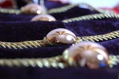 briljanten buttons tyg royaltyfria foton