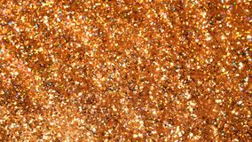 Brillant éclatant Fond sans couture miroité d'or de mouvement d'abrégé sur boucle photos stock