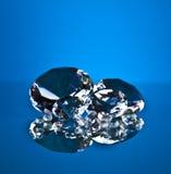 Brillant και διαμάντι Στοκ Εικόνες