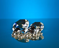 Brillant и диамант Стоковое Изображение