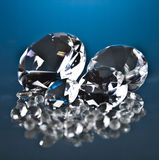 Brillant and diamond. Luxury brillant and Diamond jewelry Royalty Free Stock Photography