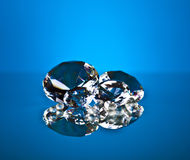 Brillant and diamond. Luxury brillant and Diamond jewelry Royalty Free Stock Photo