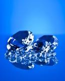 Brillant en diamant Royalty-vrije Stock Foto