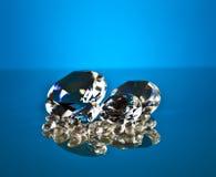 Brillant en diamant Stock Afbeeldingen