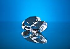 Brillant en diamant Royalty-vrije Stock Afbeeldingen
