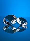 Brillant et diamant Photo stock
