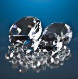 Brillant och diamant Royaltyfri Fotografi
