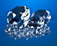 Brillant och diamant Arkivbild
