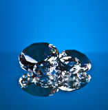 Brillant och diamant Arkivfoto