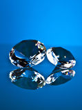 Brillant och diamant Fotografering för Bildbyråer