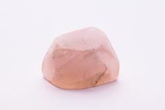Brillante prezioso minerale del gioiello della gemma della pietra preziosa di rosa rosa di Rosa Fotografia Stock Libera da Diritti