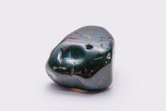 Brillante prezioso minerale della pietra preziosa del gioiello giallo rosso verde della gemma Fotografie Stock