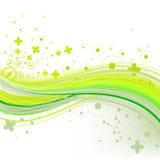 Brillantemente verde Immagini Stock Libere da Diritti