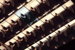 Brillar intensamente-tubo loco Foto de archivo libre de regalías