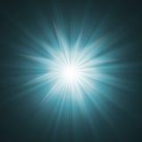 Brille el efecto luminoso Fotografía de archivo libre de regalías