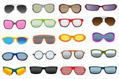 Brillen vektor abbildung